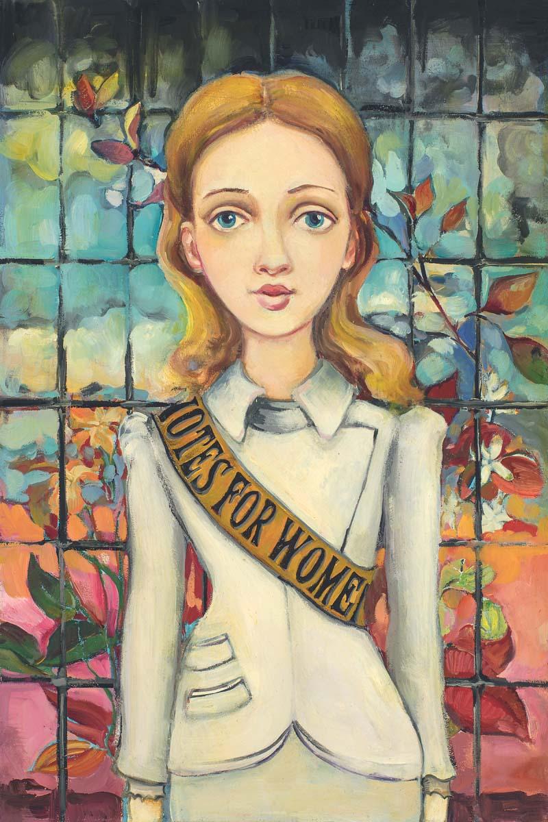 Suffragette - Cassandra Christensen Barney