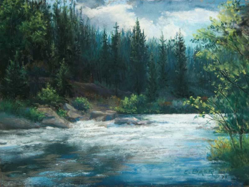 Summer Creek - Elsie Baer
