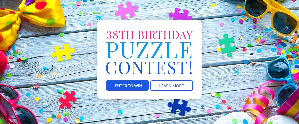 38th Birthday Puzzle Contest