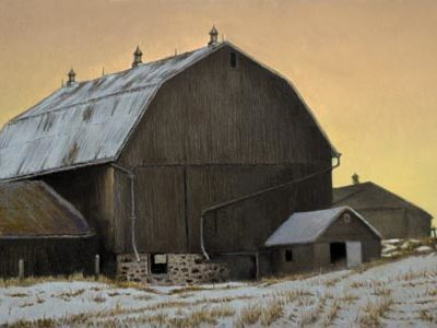 Sundown - Hip-roofed Barn