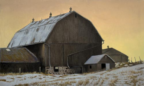 Sundown - Hip-roofed Barn