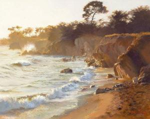 Sundown At Sea Ranch June Carey