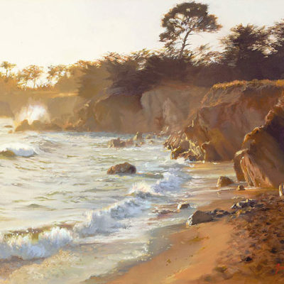 Sundown At Sea Ranch June Carey