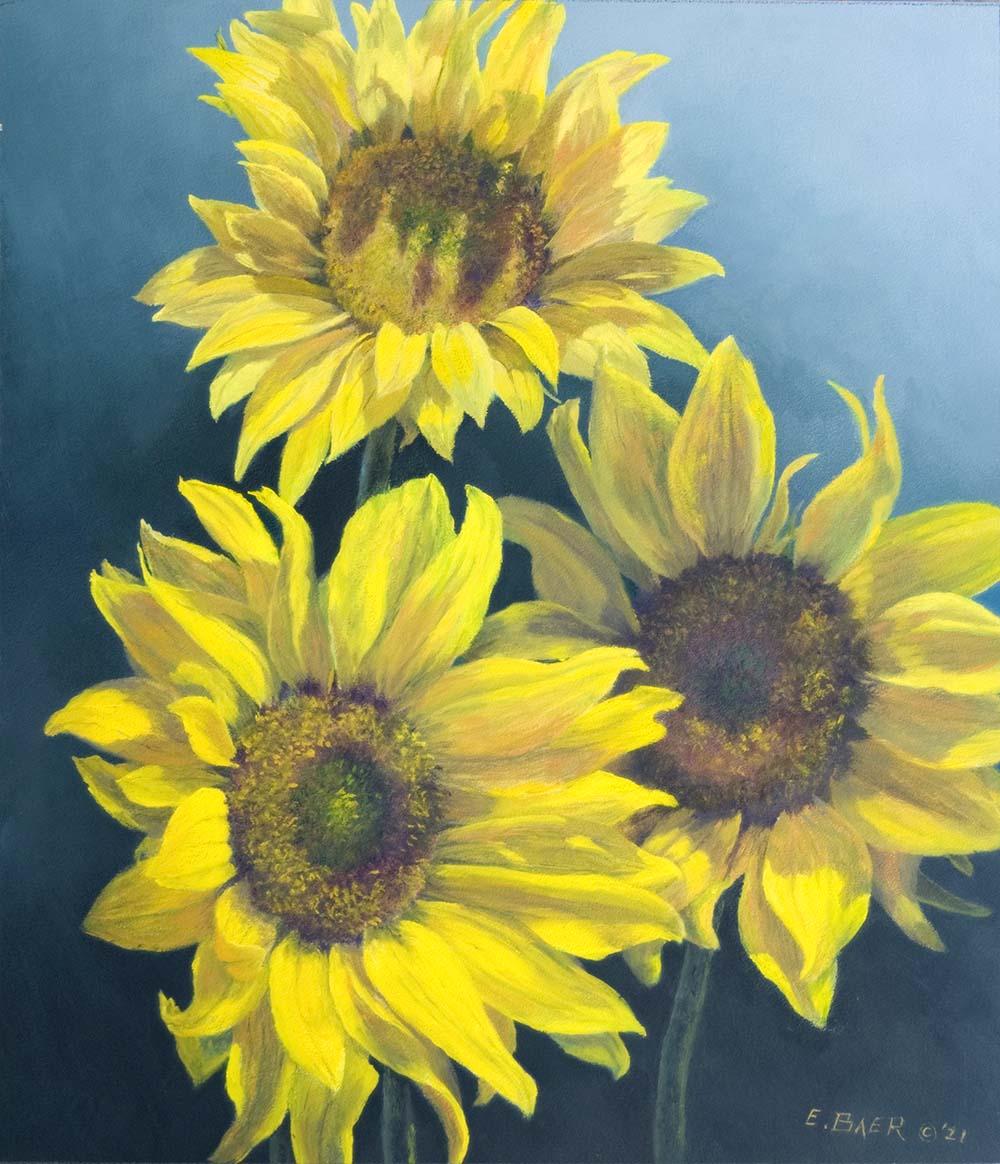 Sunflowers - Elsie Baer