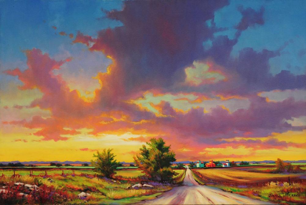 Sunrise on the Grid - Jonn Einerssen