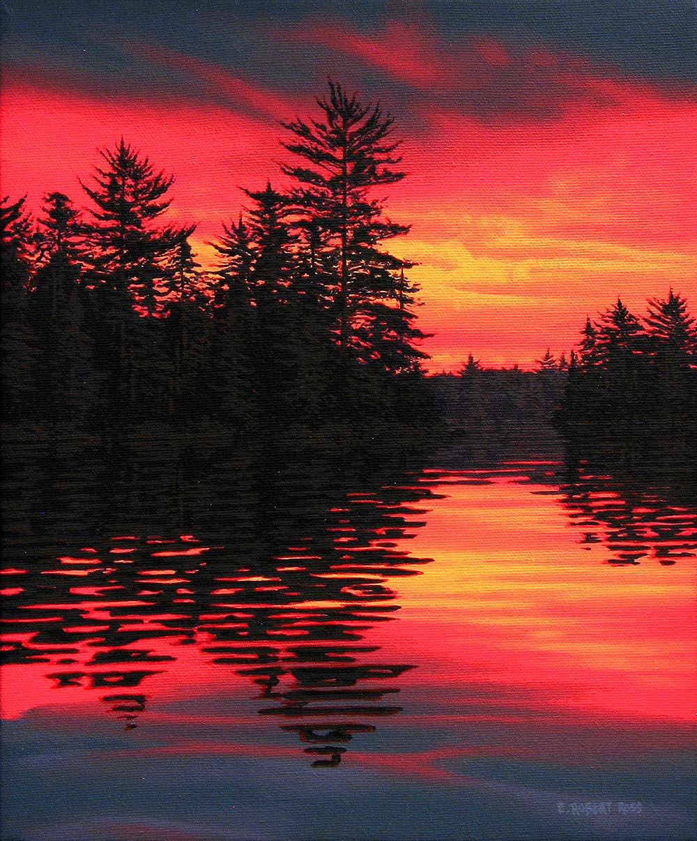 Sunset Cannisbay Lake - Robert Ross