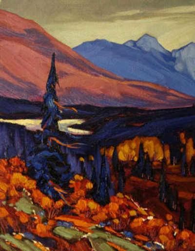 Sunset Over Alaska Range Dominik Modlinski