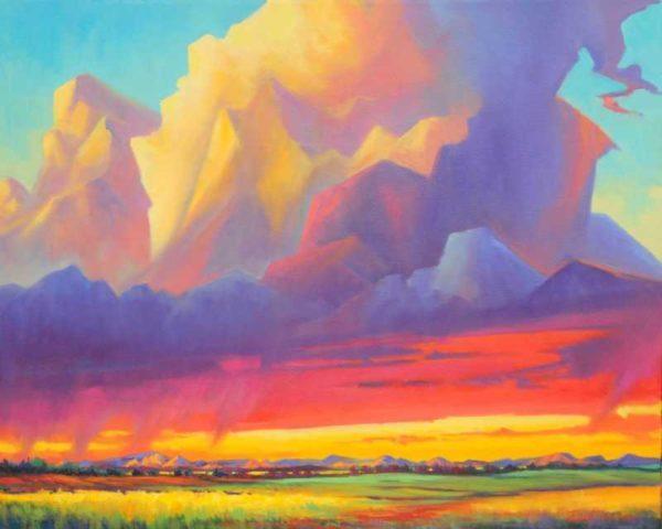Sunset Thunder Jonn Einerssen