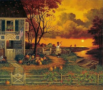 Supper Call Charles Wysocki