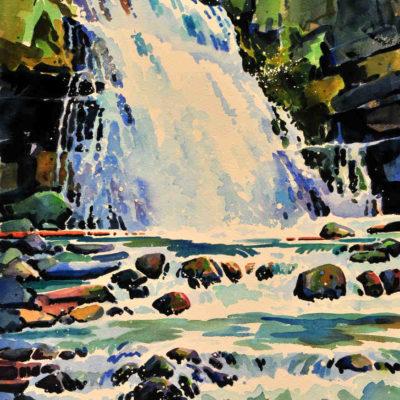 Tangle Creek Falls Jasper Gregg Johnson