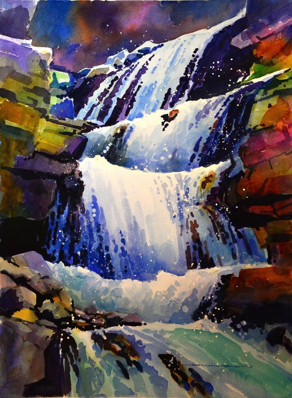 Tangle Creek Falls, Jasper II - Gregg Johnson