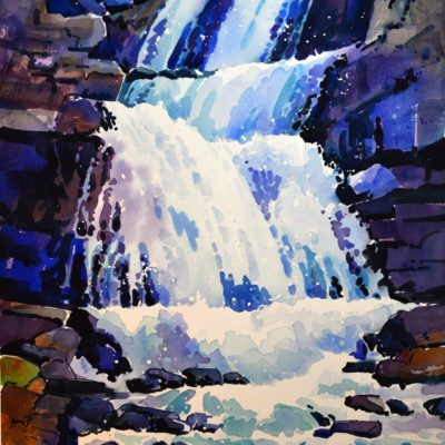 Tangle Creek Falls, Jasper III - Gregg Johnson