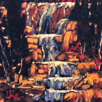 Tangle Falls Jasper Lois Bauman