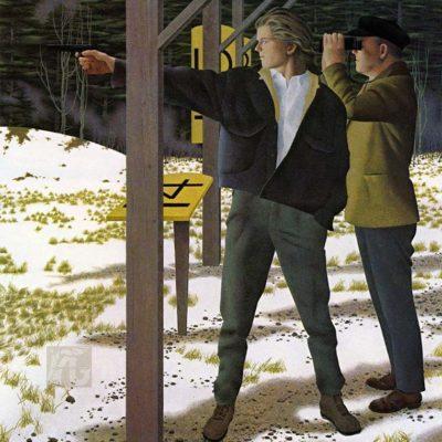 Target Shooting - Alex Colville