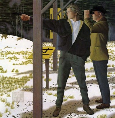 Target Shooting - Alex Colville