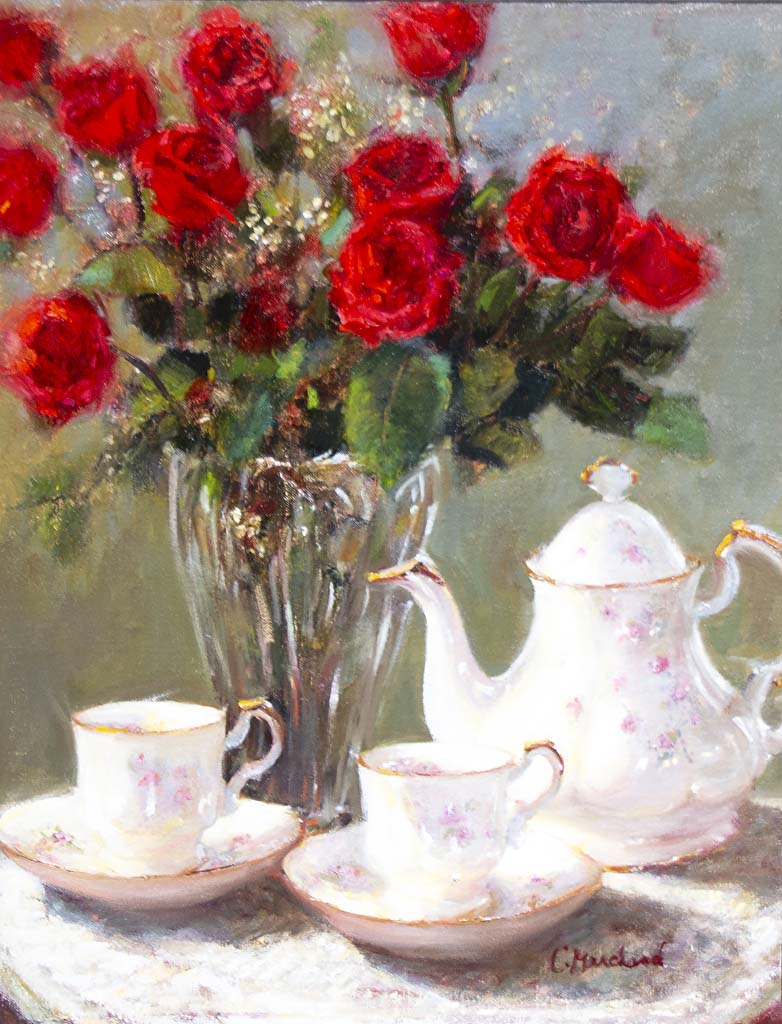 Tea and Roses - Catherine Marchand