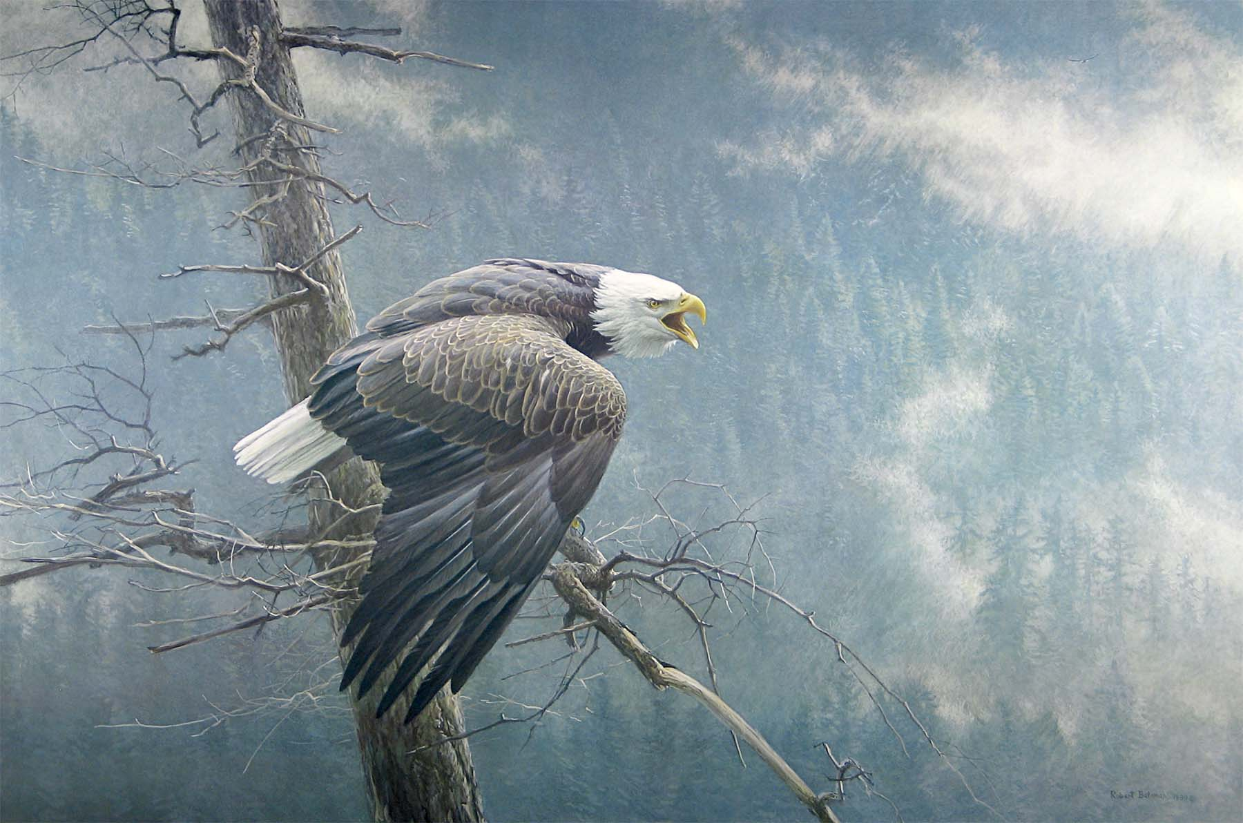 The Air, the Forest, and the Watch - Robert Bateman