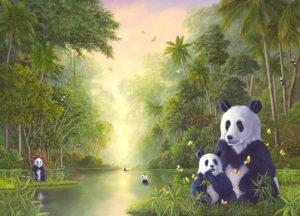 The Bamboo River - Robert Bissell