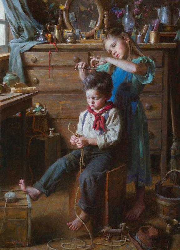 The Barbershop - Morgan Weistling