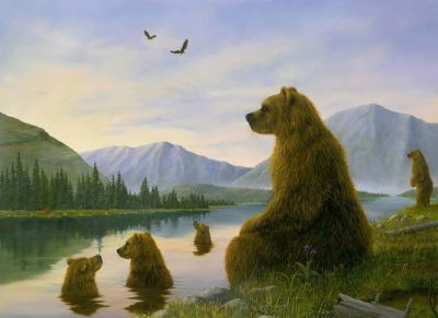 The Bathers - Robert Bissell
