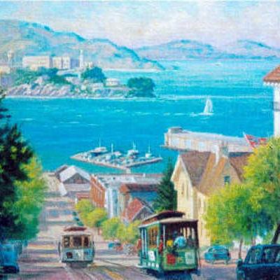 The Bay From Hyde Street Charles White