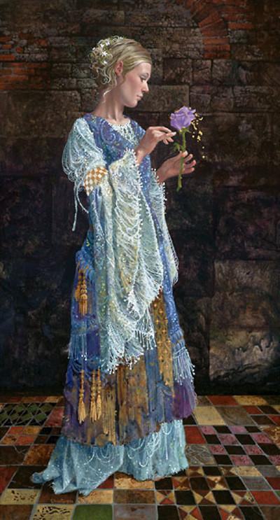 The Beggar Princess And The Magic Rose James Christensen