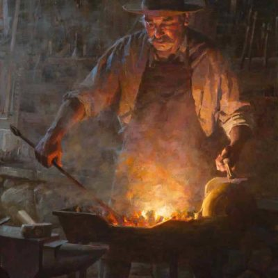 The Blacksmith Shop - Morgan Weistling