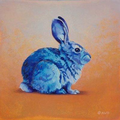 The Blue Bunny - Andrew Denman