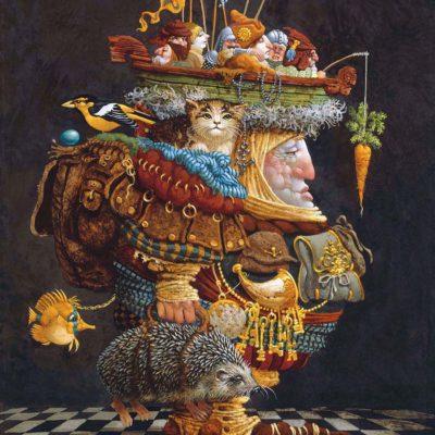 The Burden of the Responsible Man - James Christensen