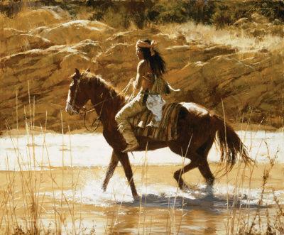 The Captain's Horse Howard Terpning