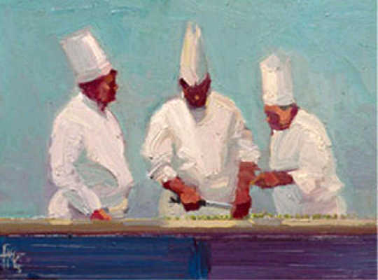 The Chef Suite Split Pea Ken Auster