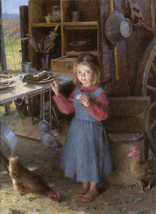 The Chef's Daughter - Chuck Wagon 1892 - Morgan Weistling