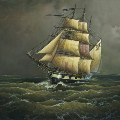 The Crossing of the Ghost Ship Bonnie Bowes - Dean Morrissey