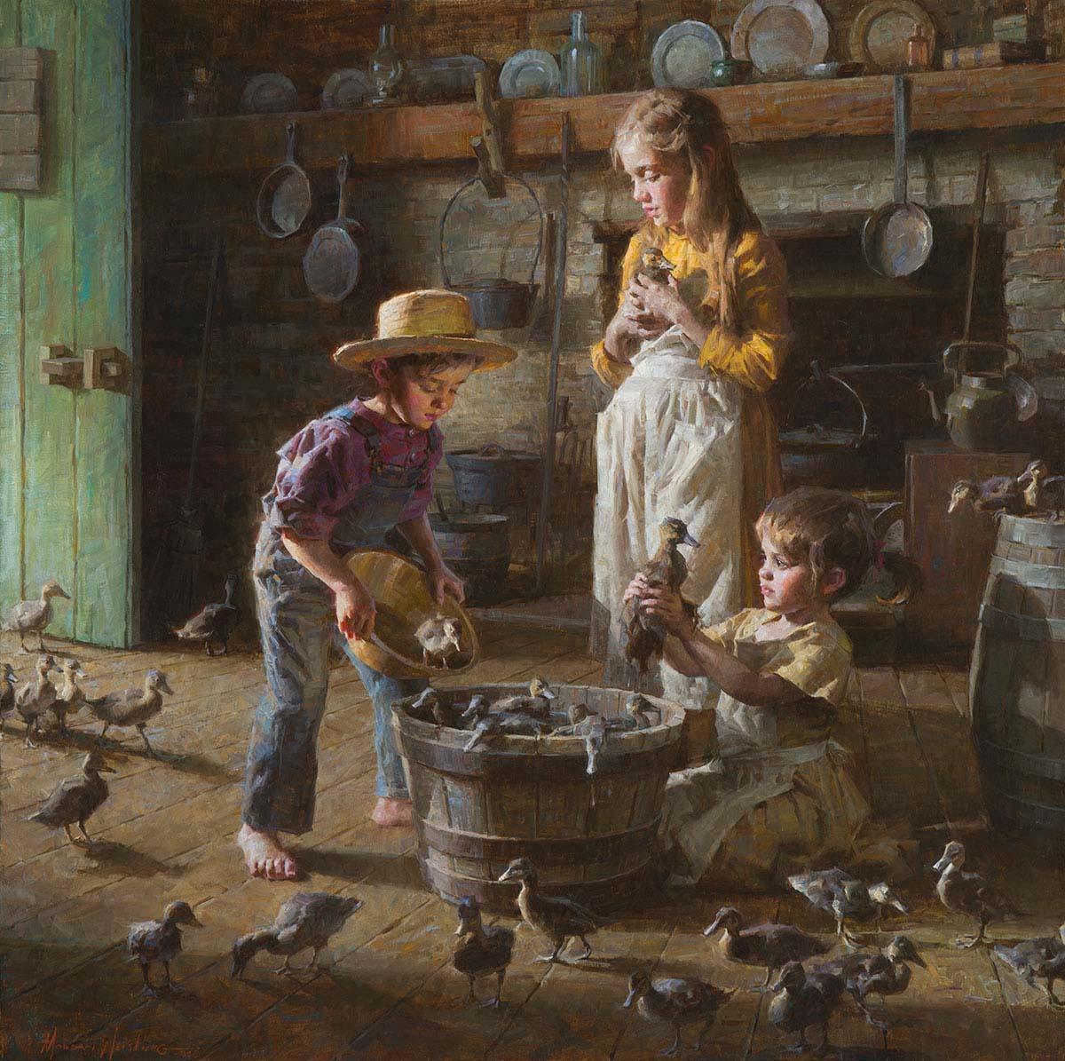The Ducklings - Morgan Weistling