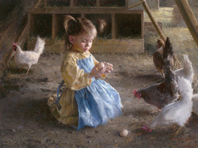 The Egg Inspector Morgan Weistling