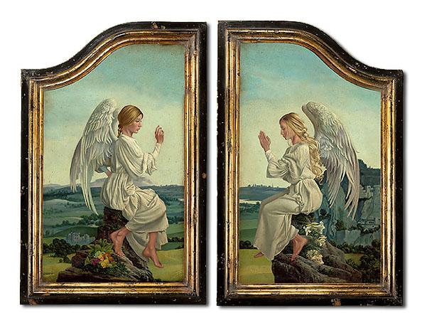 The Enoch Alterpiece Framed James Christensen