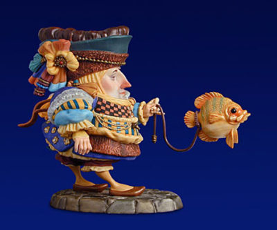 The Fish Walker Porcelain James Christensen