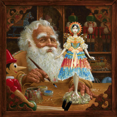 The Gift For Mrs. Claus James Christensen