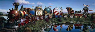 The Great Kettles Train - Dean Morrissey