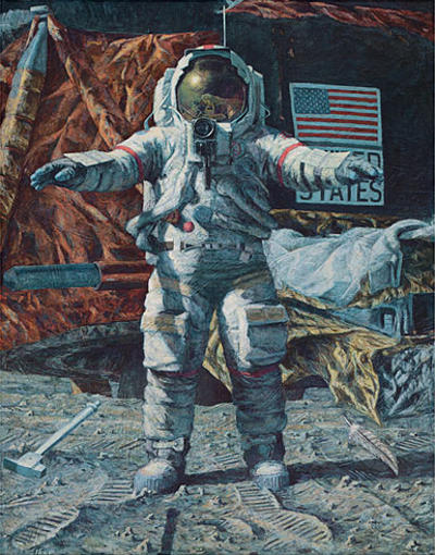 The Hammer And The Feather Alan Bean