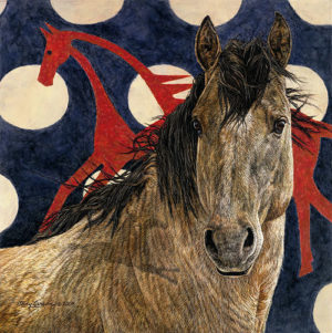The Horse Tipi Judy Larson