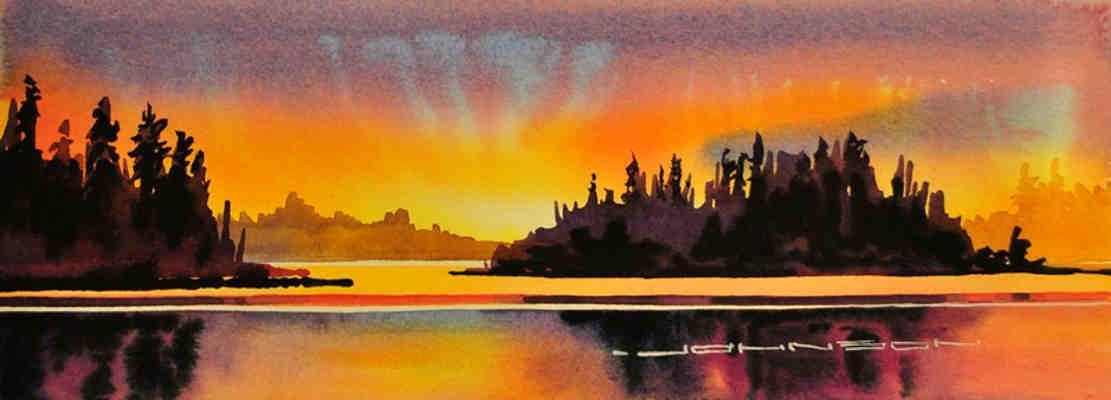 The Magic Of An Astotin Lake Sunset Elk Island Park Gregg Johnson