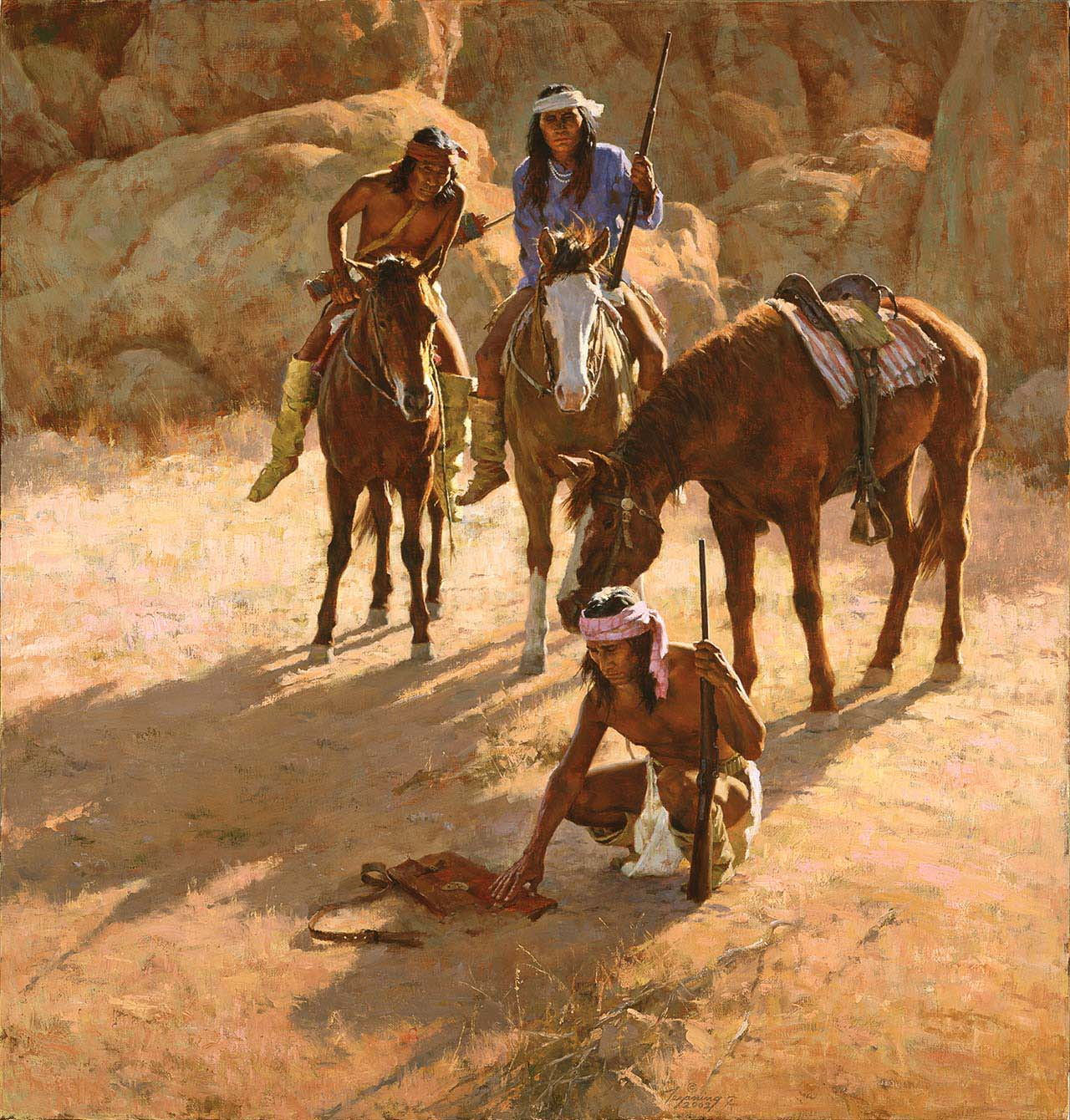 The Missing Dispatch Case - Howard Terpning