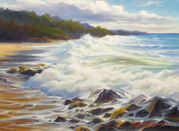 The Pacific Surge Jonn Einerssen