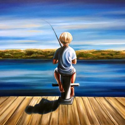 The Patient Fisherman - Tanya Jean Peterson