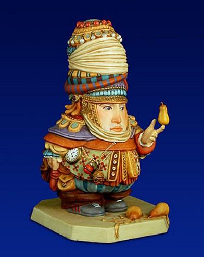The Pear Balancer Porcelain James Christensen
