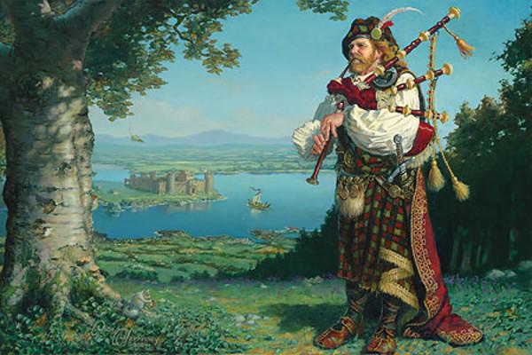The Piper of Tir n'Og - Dean Morrissey