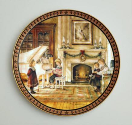 The Recital Collector Plate Trisha Romance