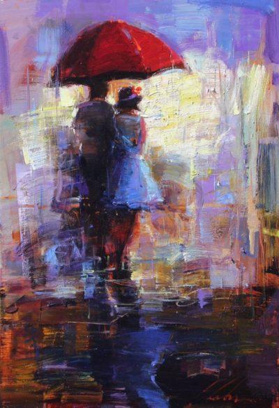 The Red Umbrella - Michael Flohr