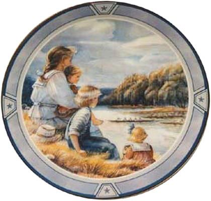 The Regatta Collector Plate Trisha Romance